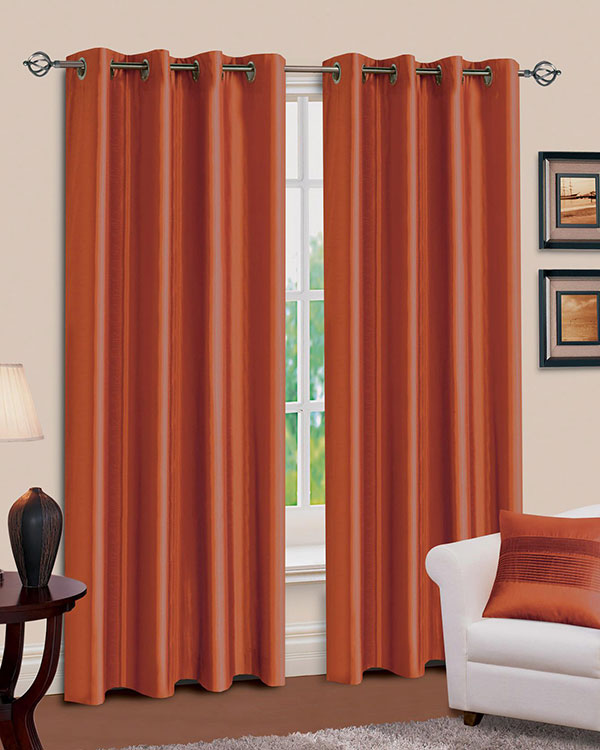 Plain Fabric Curtains, Bespoke Lined Curtains - Blinds UK