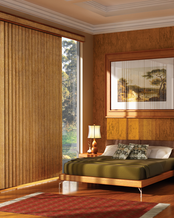 Wood Vertical Blinds Wooden