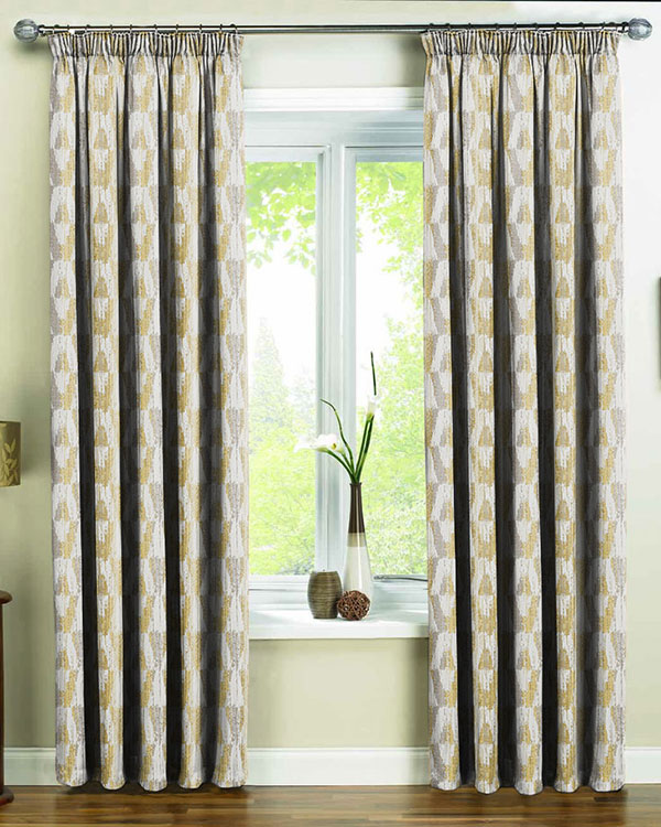 sundowner abstract patterned curtains yellow made chartreuse modern to in sundownerchartreuse measure contemporary