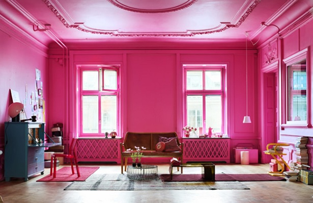 Is all about the pink